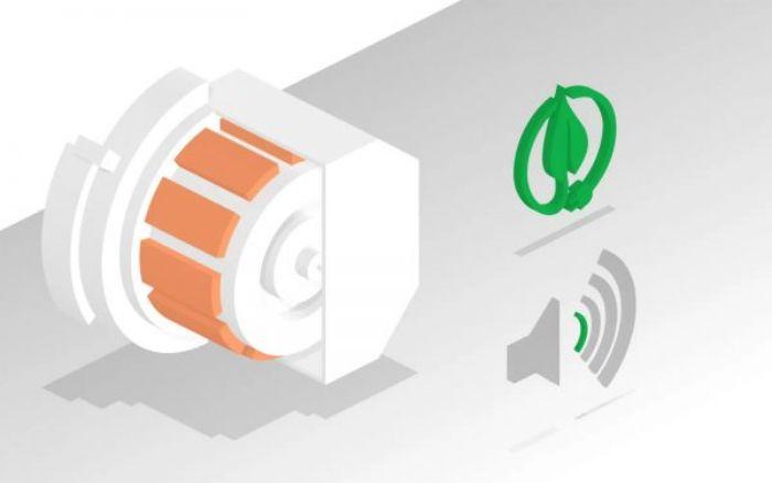 Động cơ EcoSilence hoạt động siêu bền bỉ, yên tĩnh