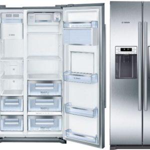 Tủ lạnh Bosch 2 cánh Side By Side KAG90AI20G dung tích lớn