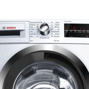 Bảng điều khiển của Máy giặt cửa trước Bosch WAT24480SG