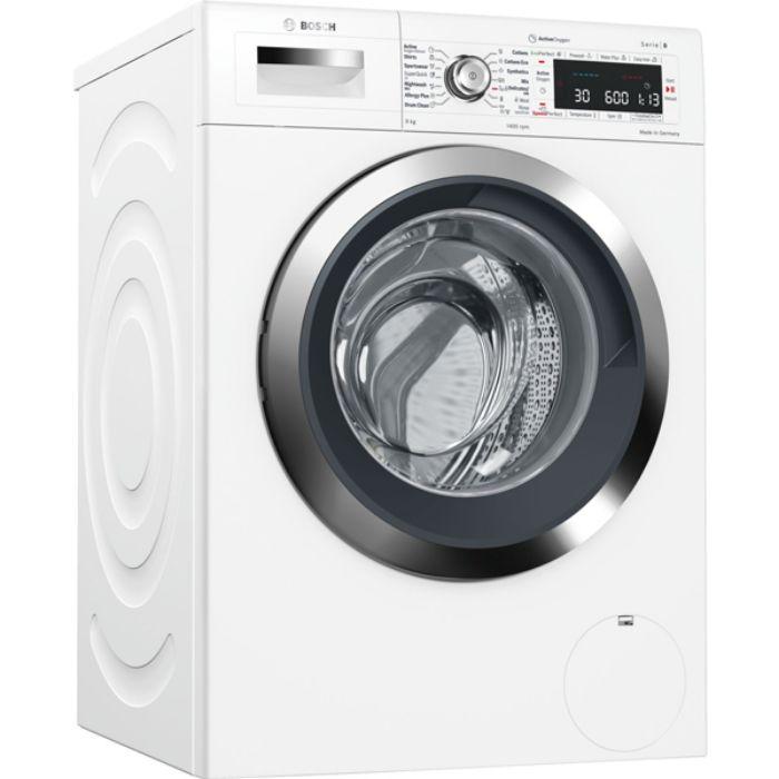 Máy giặt cửa trước Bosch WAW28790HK thiết kế sang trọng, tính năng thông minh