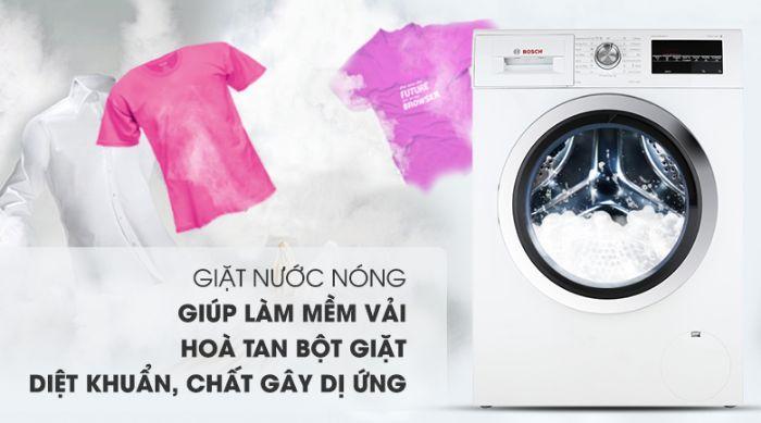 Máy giặt cửa trước Bosch WAK20060SG cho kết quả giặt hoàn hảo