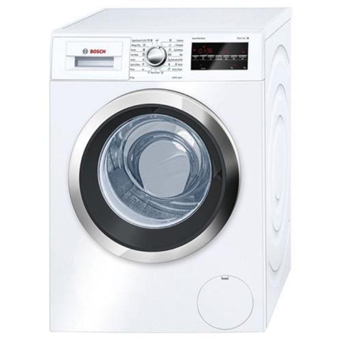 Máy giặt cửa trước Bosch WAT24480SG thiết kế sang trọng, tính năng thông minh