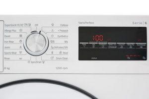 Núm xoay điều khiển của Máy giặt cửa trước Bosch WAT24480SG