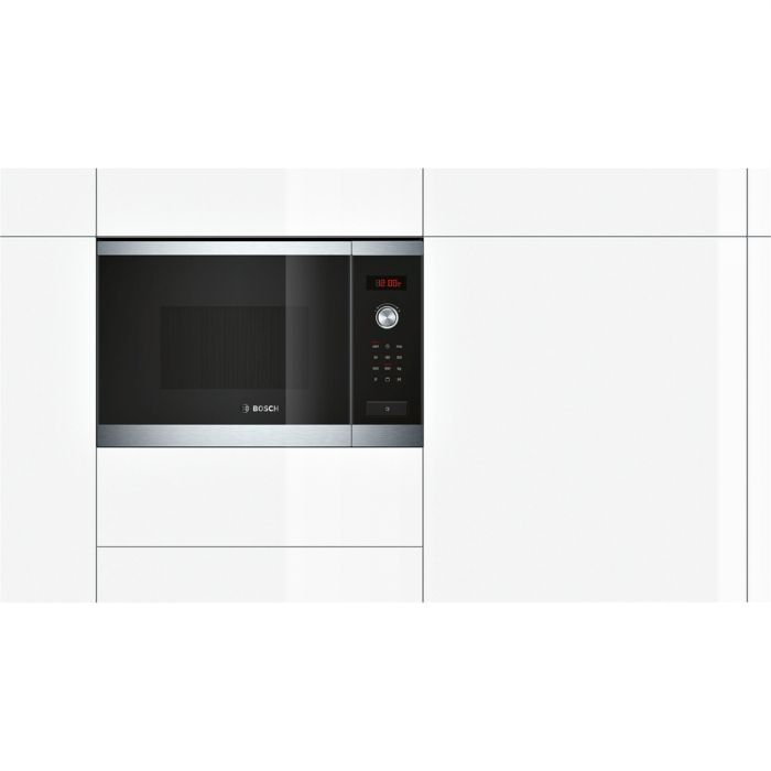 Lò vi sóng Bosch HMT84G654B phù hợp với hầu hết không gian bếp