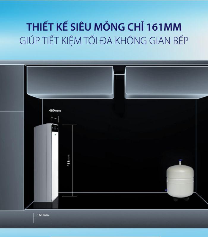Thiết kế siêu nhỏ gọn của máy lọc nước AO Smith UV AR75-U2