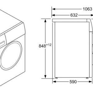 Thông số kỹ thuật của Máy Giặt Bosch WAT28482SG