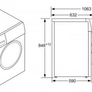 Thông số kỹ thuật của Máy Giặt Bosch WAJ20180SG