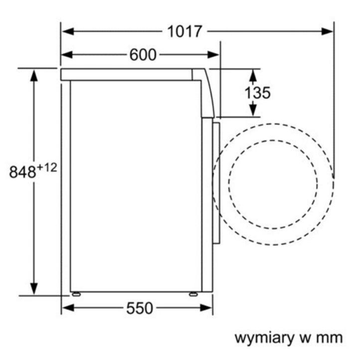 Thông số của Máy giặt cửa trước Bosch WAK20060SG