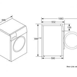 Thông số kỹ thuật của Máy giặt cửa trước Bosch WAT24480SG