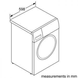 Thông số kỹ thuật của Máy giặt Bosch WAN28108GB