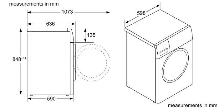 Thông số kỹ thuật của Máy giặt Bosch WGG244A0SG