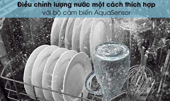Công nghệ ActiveWater được tích hợp Máy rửa bát Bosch SMS6ECI93E