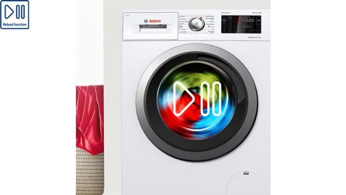 Tính năng tạm dừng tiện lợi của Máy Giặt Bosch WAT28482SG