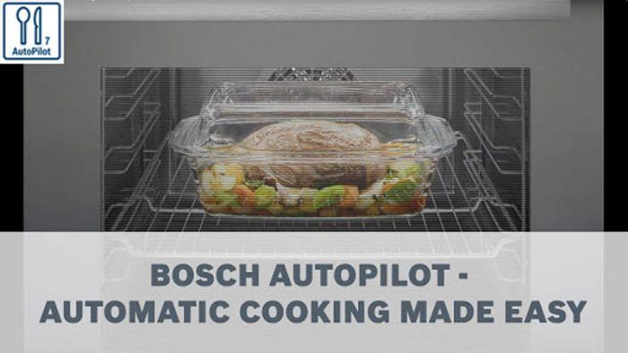 Chương trình tự động tiện lợi của Lò vi sóng Bosch BFL523MS0H