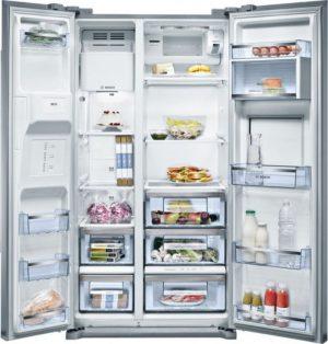 Bảo quản thức ăn hiệu quả với Tủ lạnh Bosch 2 cánh Side By Side KAG90AI20G
