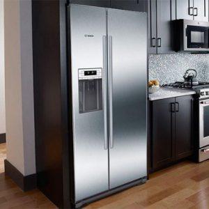 Tủ lạnh Bosch Side By Side KAI90VI20G phù hợp với hầu hết không gian bếp