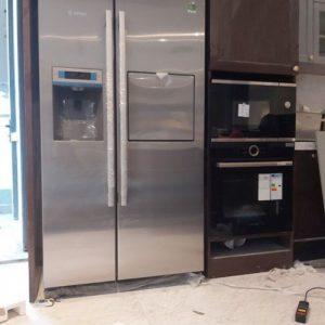 Tủ lạnh Bosch 2 cánh Side By Side KAG90AI20G phù hợp với hầu hết không gian bếp