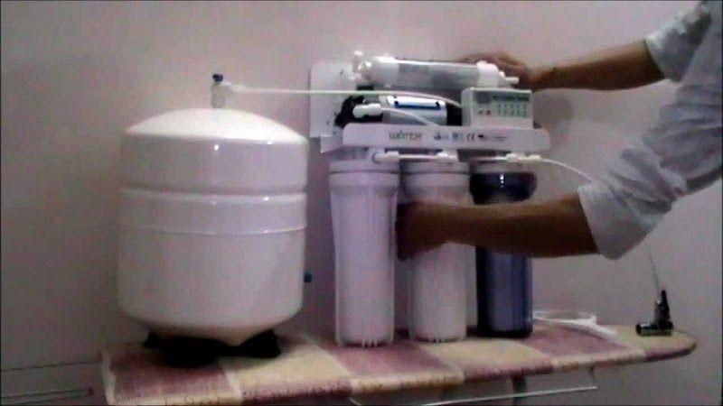 Van Flow cốc lọc nước RO bị hỏng