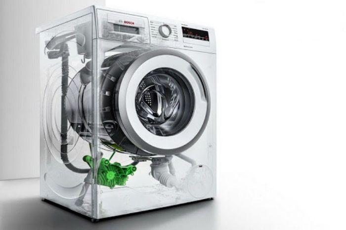 Máy giặt cửa trước Bosch WAT286H8SG hoạt động siêu yên tĩnh