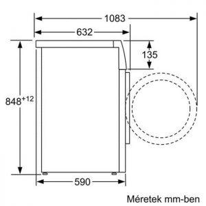 Thông số kỹ thuật của máy giặt Bosch
