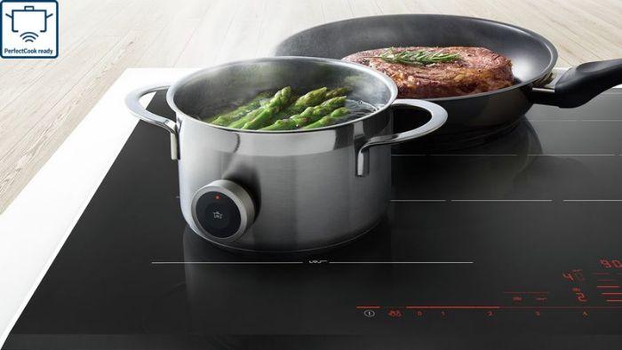 Tính năng Perfect Cook Ready của bếp từ Bosch PXY875KW1E