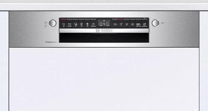 Tính năng tăng tốc độ rửa tiện lợi của máy rửa bát Bosch SMI4HCS48E