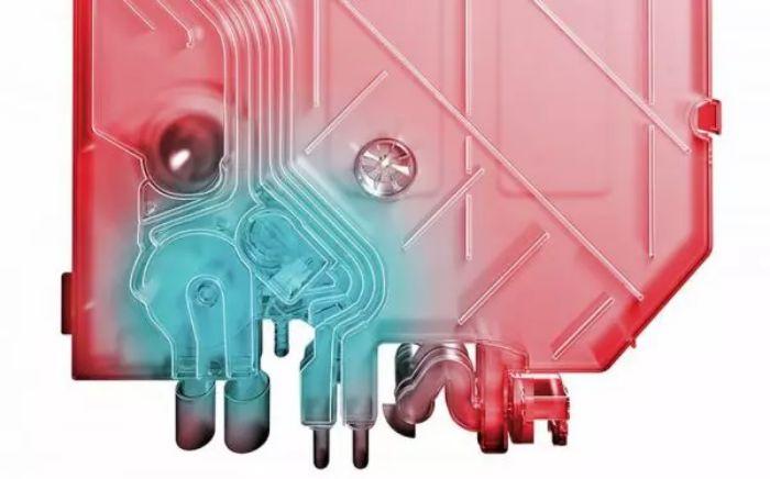 Bộ trao đổi nhiệt của máy rửa bát Bosch SMS4IVI01P