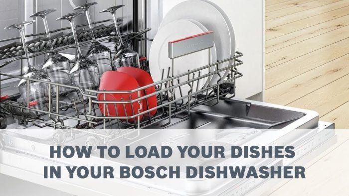 Tính năng cảm biến tải được tích hợp trên Máy rửa bát Bosch SMS4IVI01P