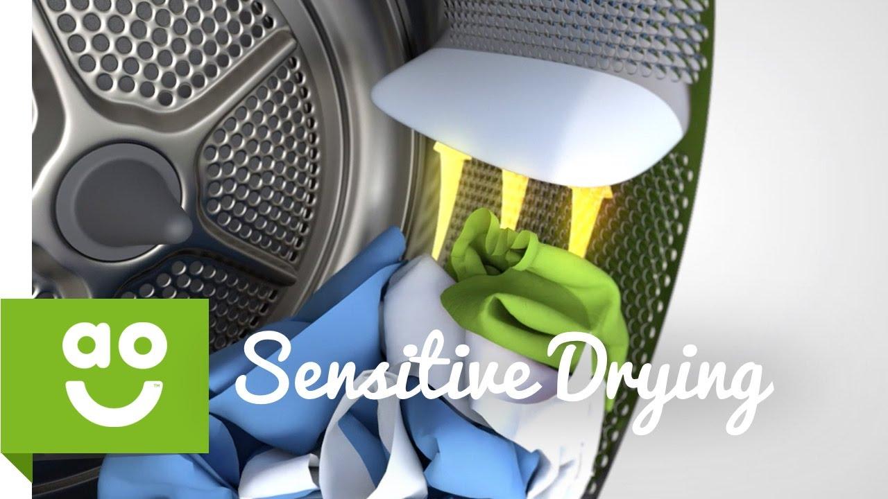 Tính năng sấy SensitiveDrying system thích hợp cho người nhạy cảm