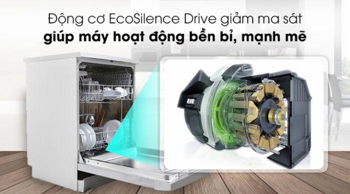 Động cơ hoạt động êm ái, bền bỉ, tiết kiệm năng lượng