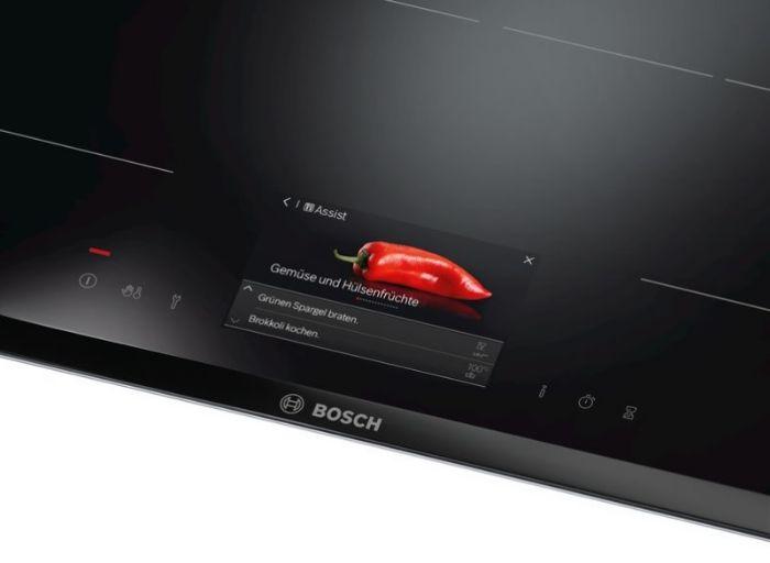 Màn hình Touch Display của bếp từ Bosch PXY875KW1E