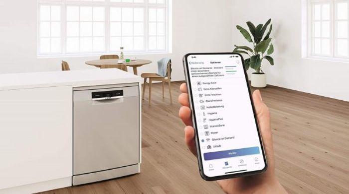 Kết nối Home Connect siêu tiện lợi của máy rửa bát Bosch SMI4HCS48E