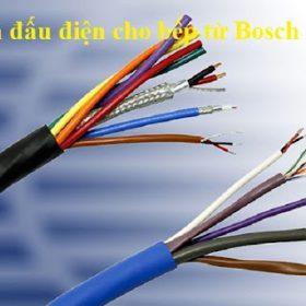 Hướng dẫn cách đấu điện bếp từ Bosch