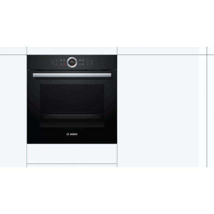 Lò nướng Bosch HBG635BB1 phù hợp với hầu hết không gian bếp