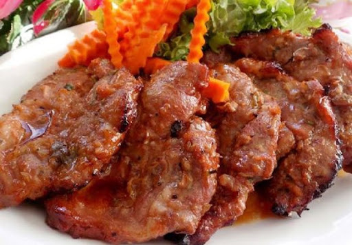 Món nướng bằng lò vi sóng - thịt bò cay
