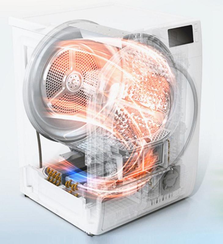 Công nghệ sấy tụ hơi bằng khí nóng hiện đại