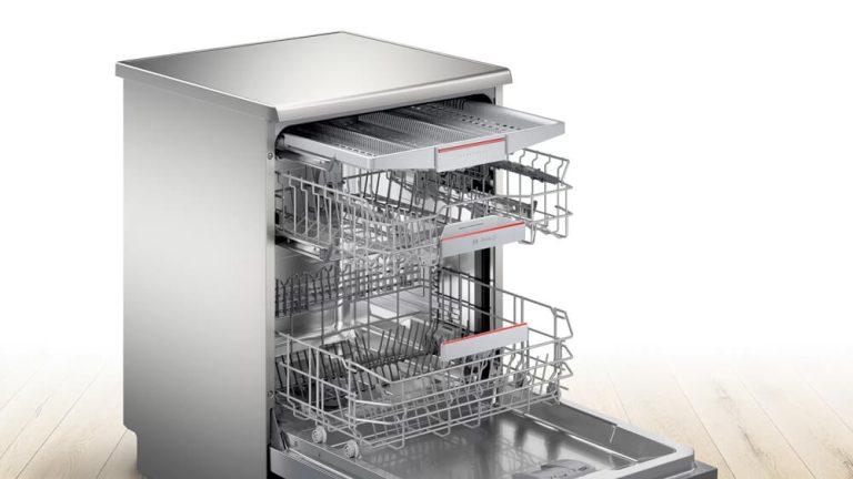 Hệ thống giàn rửa của máy rửa bát Bosch SMS4EMI00E