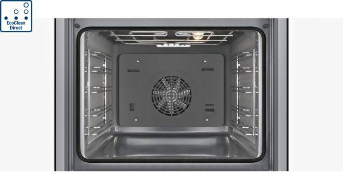 Tính năng tự động vệ sinh tiện lợi của lò nướng Bosch HBG635BB1